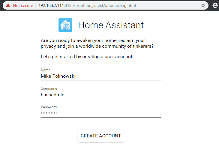 Home Assistant with your INSTAR IP Camera